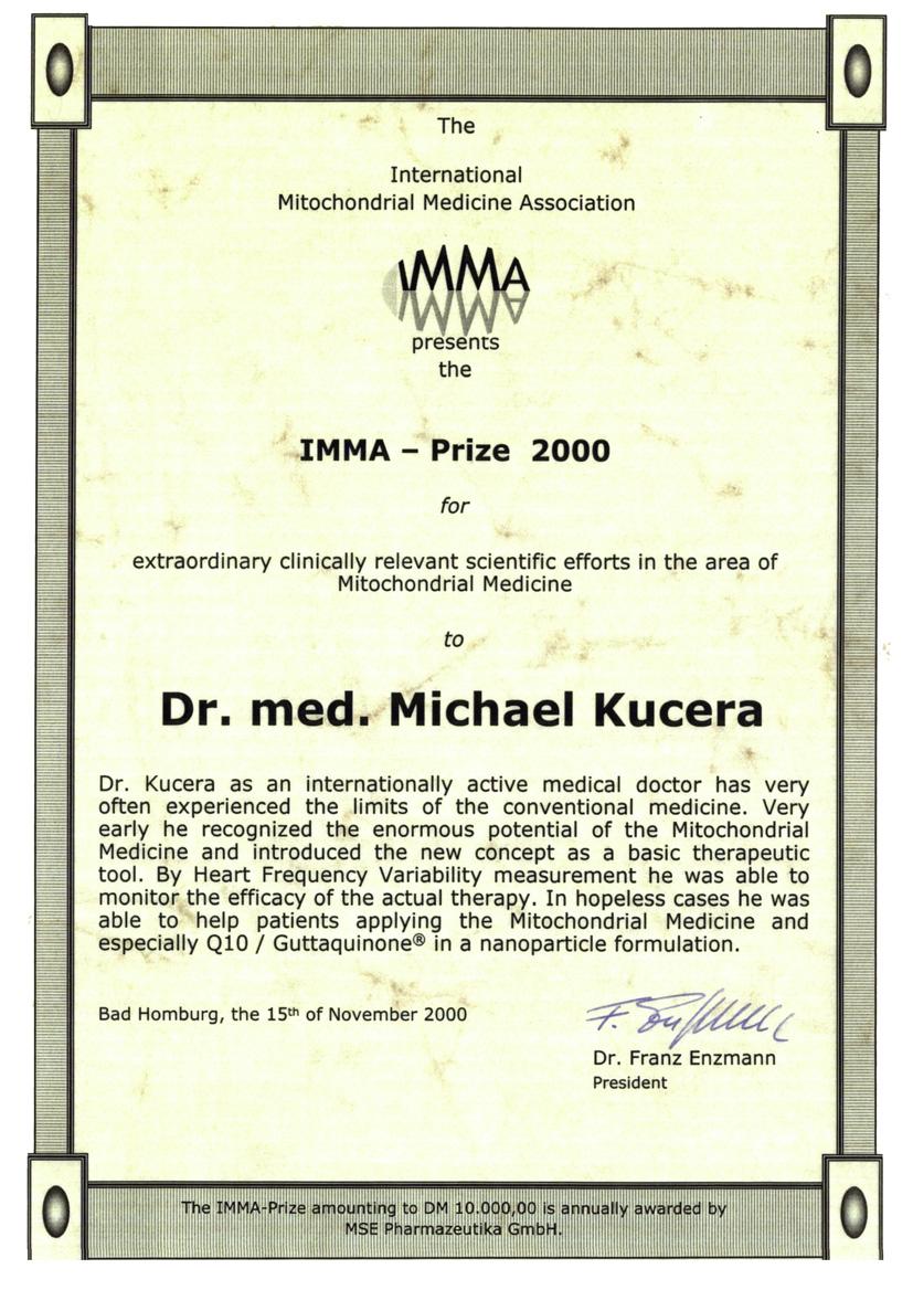 IMMA-Nagrada